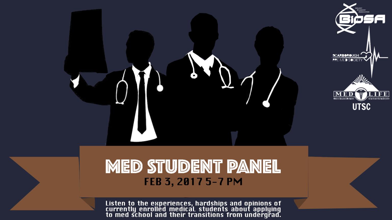 med student panel