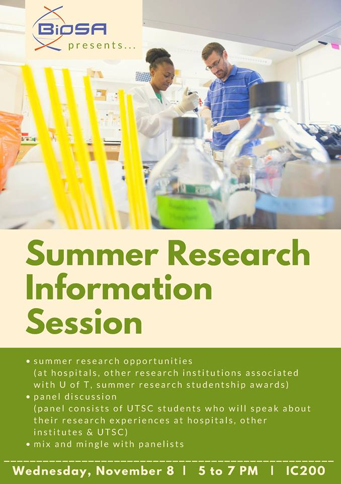 summer research panel