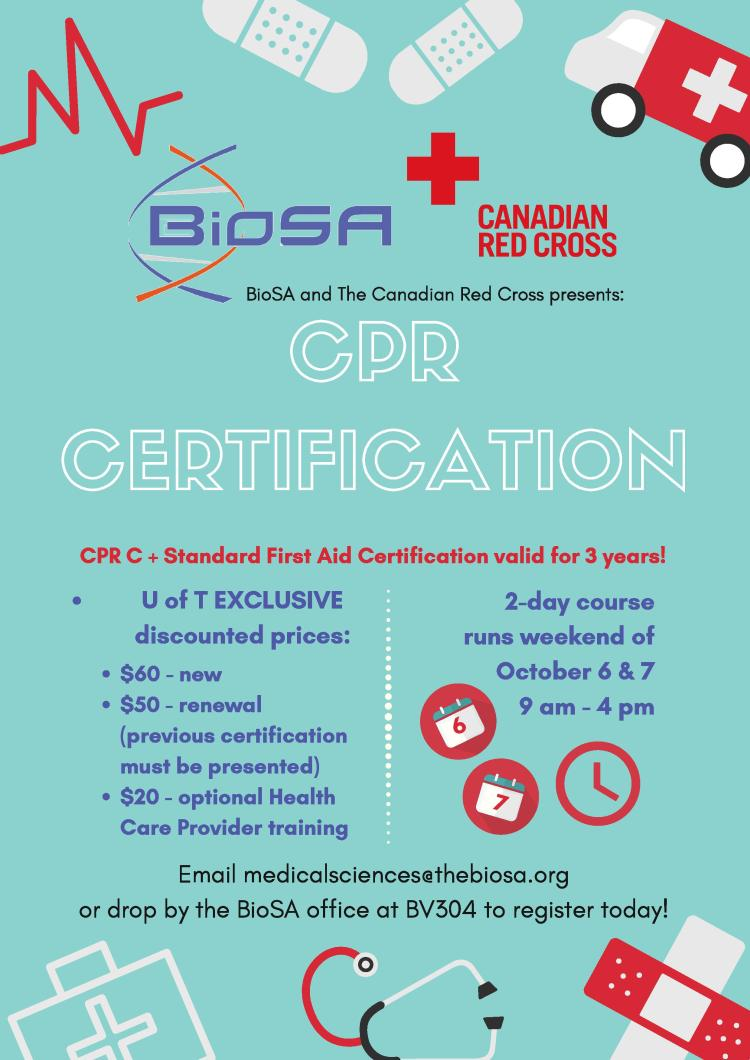 Learn To Save Lives With Biosa Cpr Training Biology Students