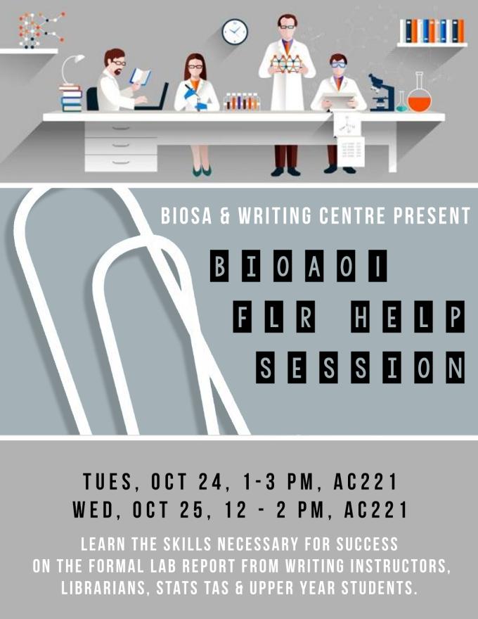 FLR Help Session Poster