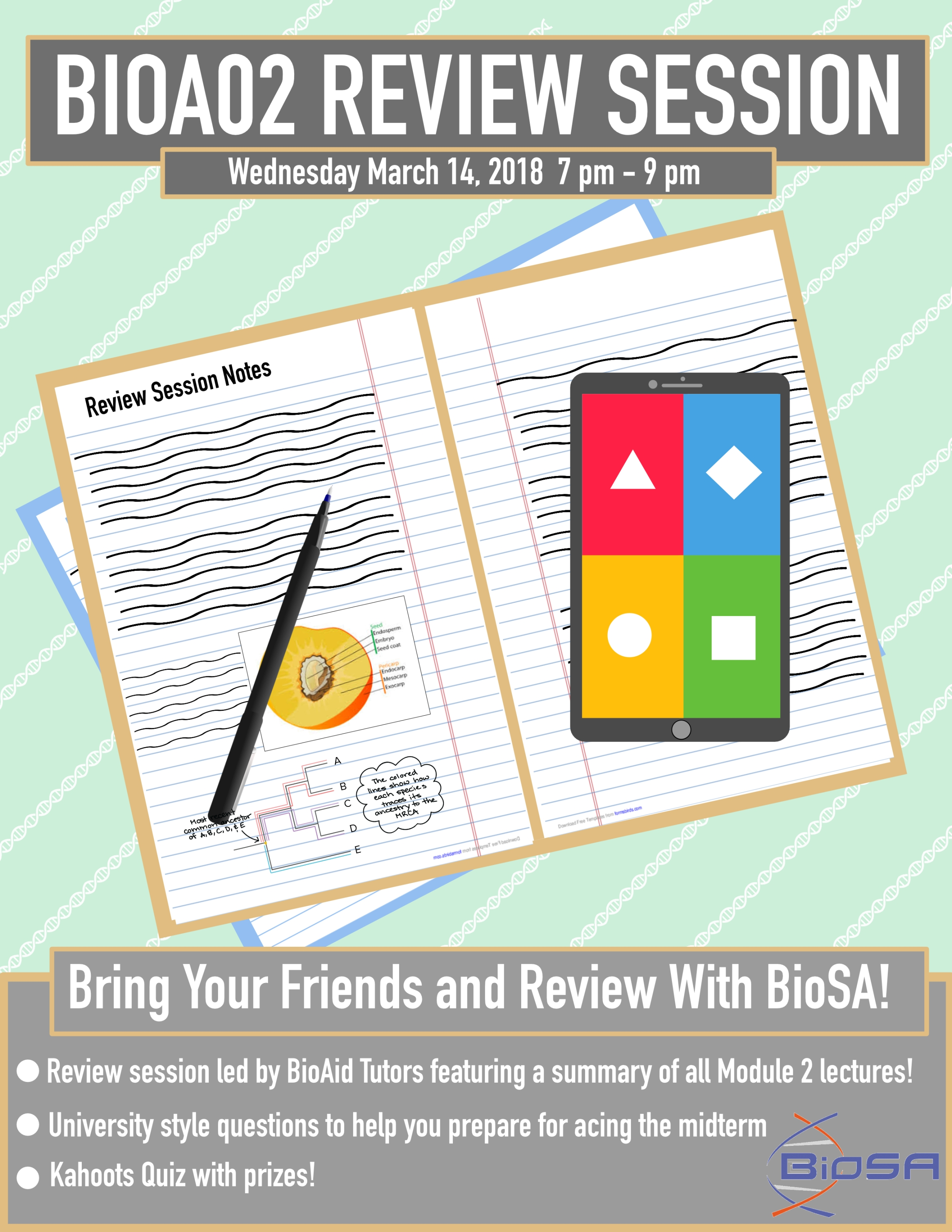 Bioa02 review session poster